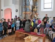 Altarweihe mit Alt-Erzbischof Alois Kothgasser