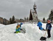 "Praxistag Simmering Alm – Bergrettung thematisiert die ""Lawine"""