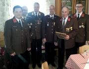 Floriani-Feier 2015 – Ehrungen verdienter Feuerwehr-Mitglieder