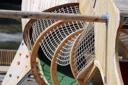 Laubsammler am Badesee – Die Stockschützen machen die Freizeitanlage frühlingsfit