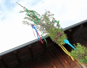Palmbuschenbinden für Palmsonntag am Steirerhof