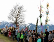 Palmsegnung beim Seekreuz in Barwies