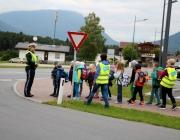 Projekt Pedibus: Sicher zur Schule
