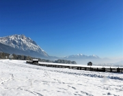 Schneekristalle am Stöttlbach