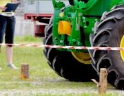 """Traktor-Geschicklichkeits-Fahren – Der Star war ein """"Lindner Unitrac"""""""