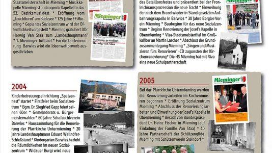10 Jahre Mieminger Dorfzeitung, Foto: Mieminger Dorfzeitung/Mieming.online