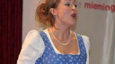 Eva-Maria Schmid begeisterte beim Neujahrskonzert in Mieming, Foto: Knut Kuckel