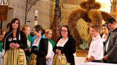 Erntedank-Gottesdienst in der Pfarrkirche Untermieming, Foto: Knut Kuckel