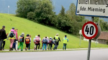 """Der """"Pedibus - ist im übertragenen Sinne ein »Autobus auf Füßen«. - Foto: Knut Kuckel"""