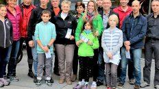Tiroler Fahrradwettbewerb 2015, Sieger und Gratulanten, Foto: Knut Kuckel