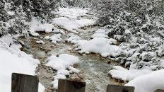 Obere Boasligbrücke, Schneewanderung, Foto: Knut Kuckel