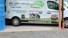 """Milchprodukte vom """"Michelerhof"""", Foto: Knut Kuckel"""