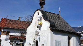 Josefskapelle wird herausgeputzt, Foto: Knut Kuckel