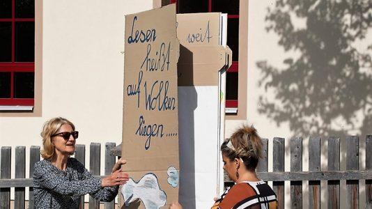 10 Jahre Lesebrücke Volksschule Untermieming, Foto: Andreas Fischer