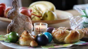 Ein herzliches Vergelt's Gott an Daniela Kapeller für die Speisen aus dem Weihkorb der Osternacht. Foto: Mieming.online