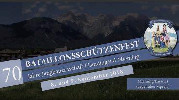 70. Bataillonsschützenfest und 70 Jahre Jungbauernschaft/Landjugend, Foto: Andreas Fischer/Mieming.online